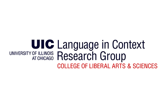 Logo for the Language in Context Research Group (LICORG)