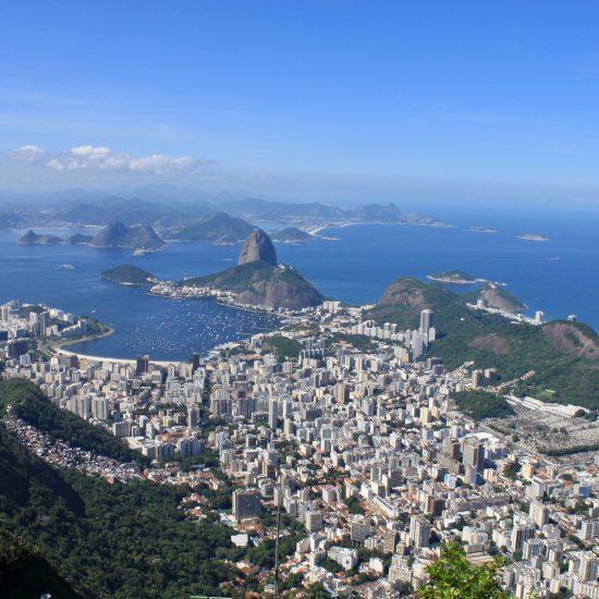 Sugar Loaf Mountain in Brazil